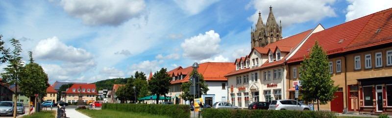 Stadtilmer Marktplatz