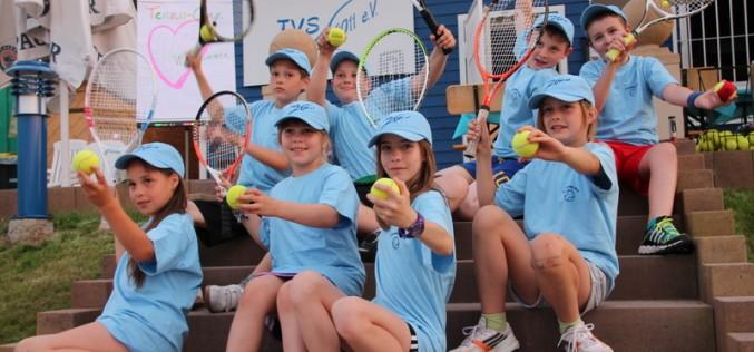 1. Kindercamp des Stadtilmer Tennisvereins