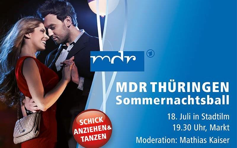 MDR Sommernachtsball 2015 in Stadtilm