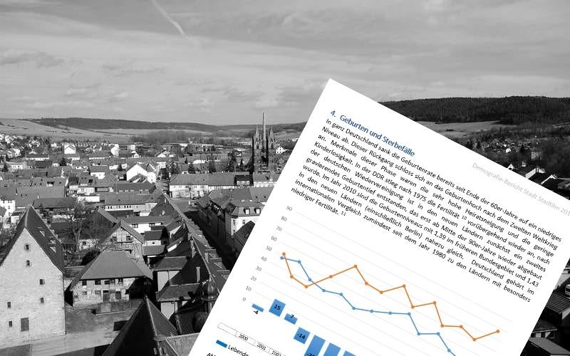 Stadtilms Einwohnerzahl schrumpft weiter