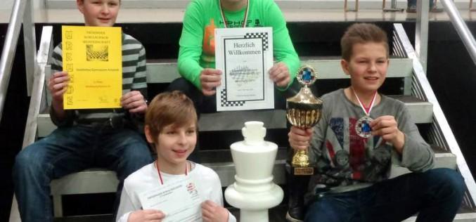 Erfolg bei den Thüringer Schulschachmeisterschaften