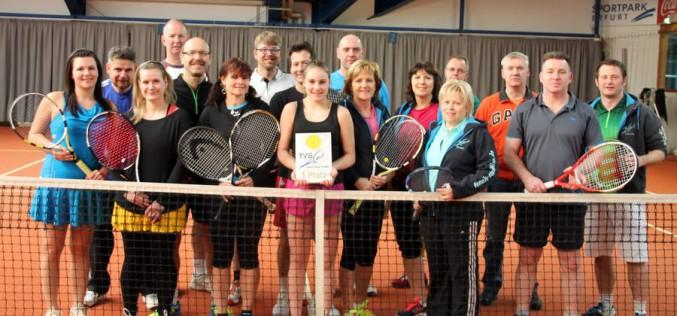 Spaß Turnier  des Tennisvereins Stadtilm im Sportpark Erfurt