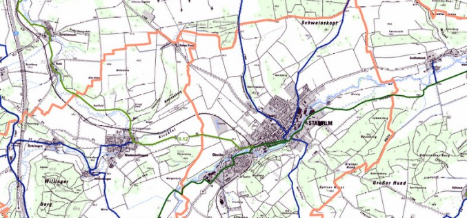 Radwegnetz im Ilm-Kreis soll um 41 Kilometer wachsen