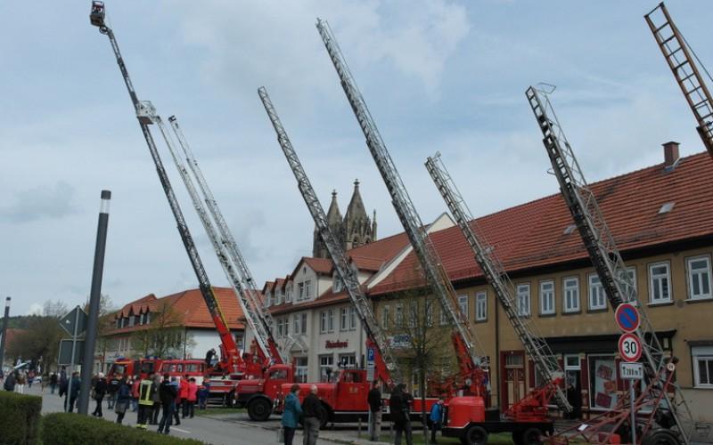 Feuerwehr-Doppeljubiläum lockt Menschenmassen nach Stadtilm