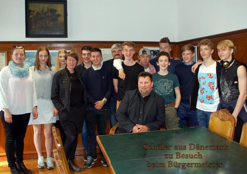Schüler-Besuch aus Dänemark
