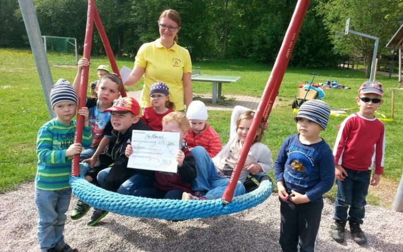 Ilm- Flöhe spenden wieder an die Kindergärten und Einrichtungen