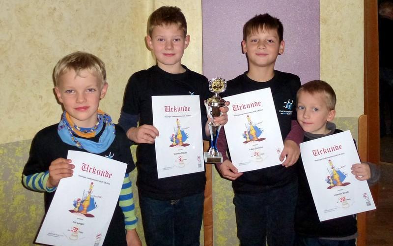 Erfolgreiche Teilnahme an der Thüringer Einzelmeisterschaft