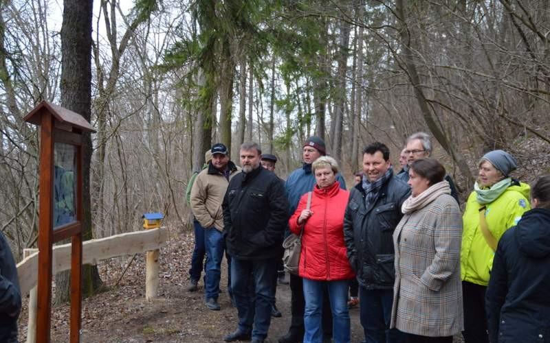 Naturlehrpfad auf dem Buchberg wurde feierlich eingeweiht