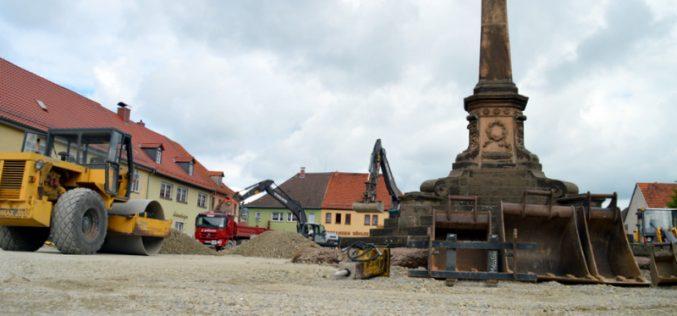 Freigabe zum Abbau des Denkmals
