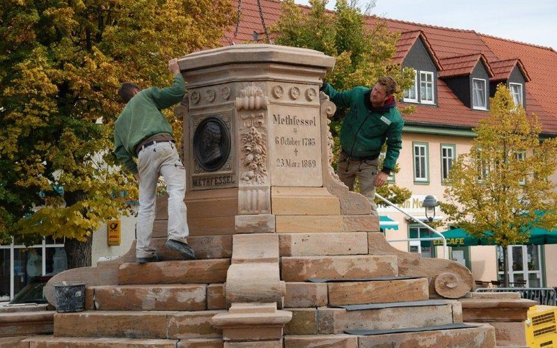 Methfessel-Denkmal wächst!
