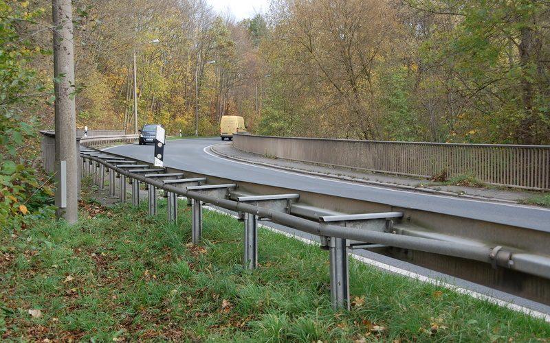 Brückenerneuerung B87 über die Ilm 2018