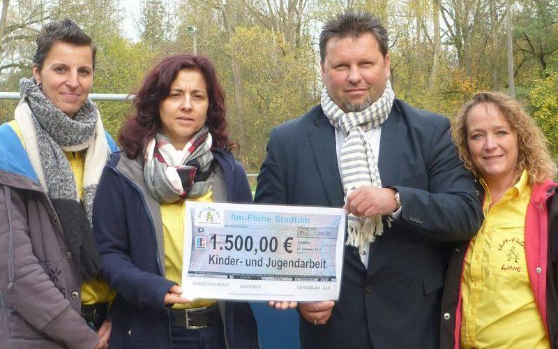Ilm Flöhe spenden 1.500 Euro
