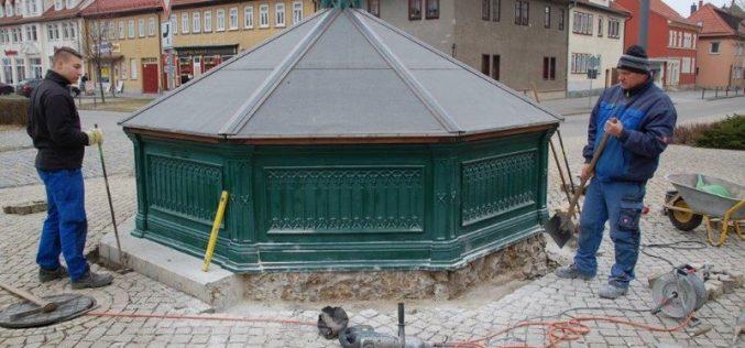 Reparatur Eckholdtsbrunnen