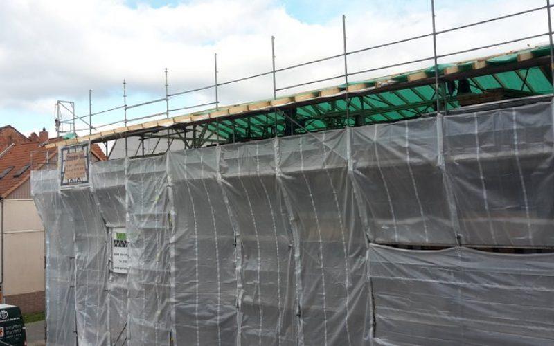 Rekonstruktion des Rathauses/Ostflügel