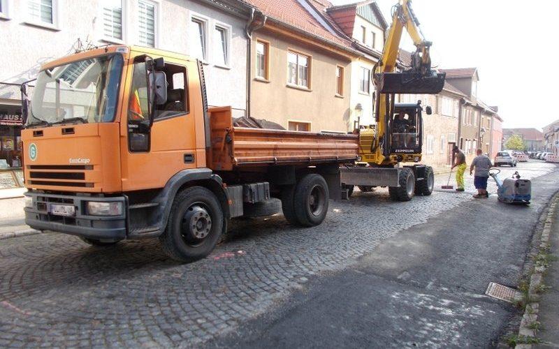 Baumaßnahme Karl-Liebknecht-Straße
