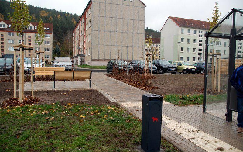 "Fertigstellung der Baumaßnahme ""Parkplatz Feldstraße"""