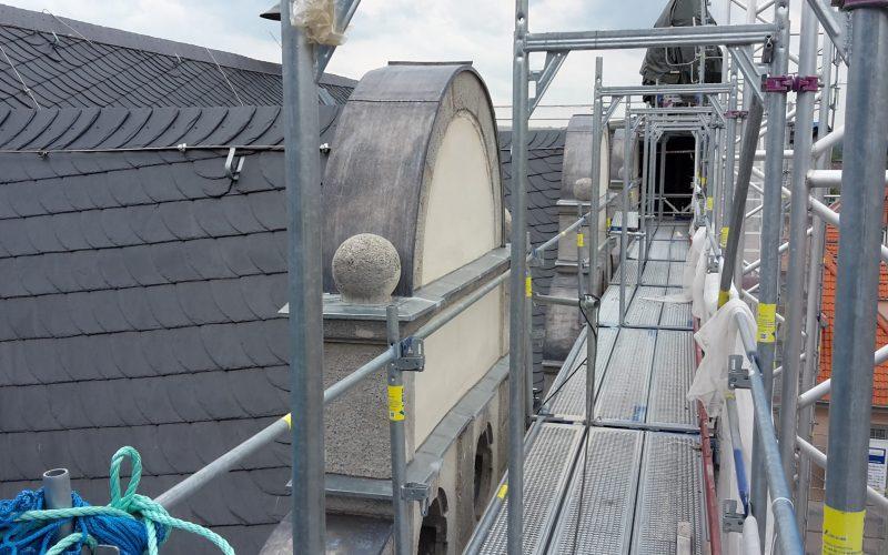 Sanierung Rathausfassade