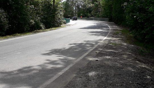 Beendigung der Bauarbeiten an der Straßenbrücke L3087 Oberilm