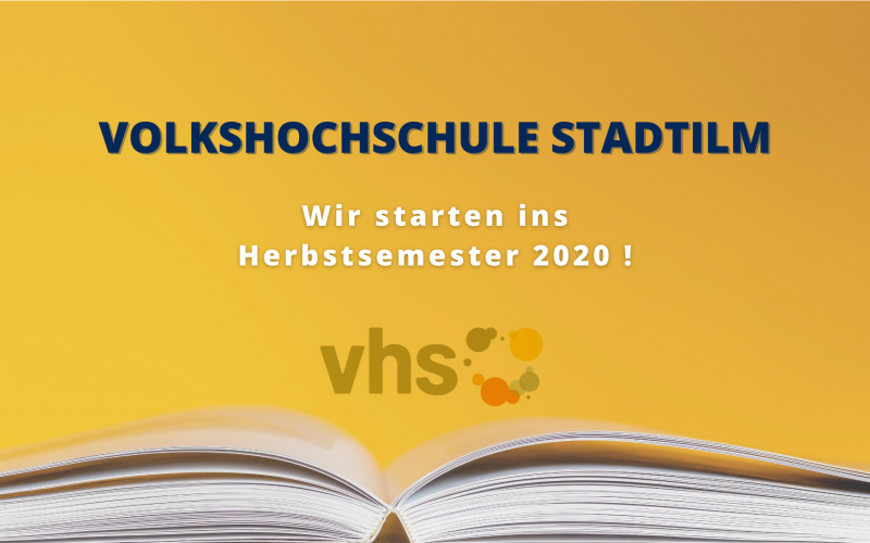 Information der Volkshochschule Arnstadt-Ilmenau Außenstelle Stadtilm